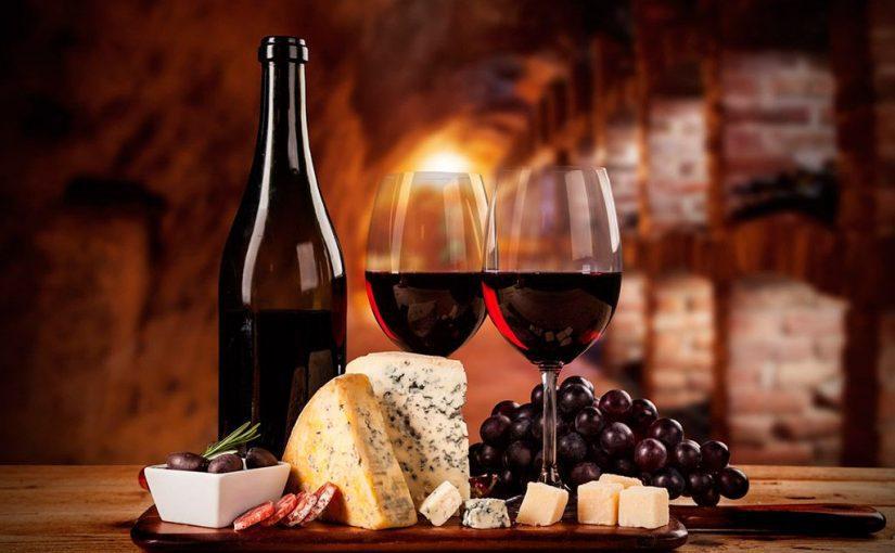 Quesos y embutidos para acompañamiento de vinos