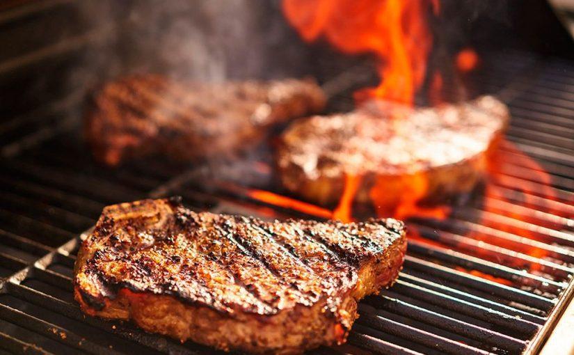 ¿Cómo saber el término de la carne cuando se cocina a la parrilla?