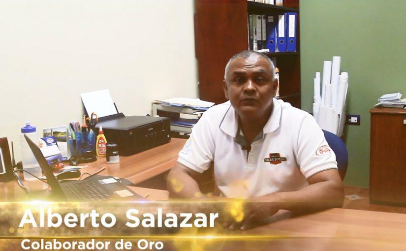 Colaboradores de Oro: Alberto Salazar Obando