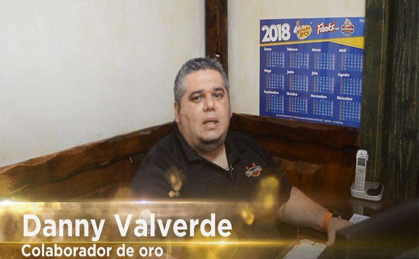 Colaboradores de Oro: Danny Valverde