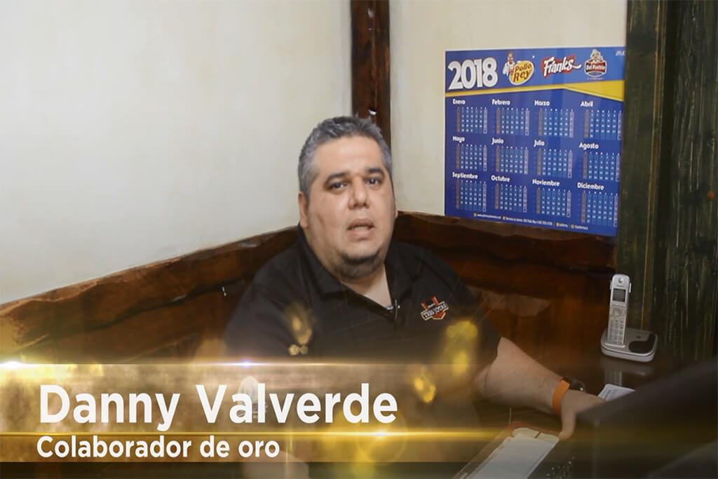 Colaboradores de Oro Danny Valverde