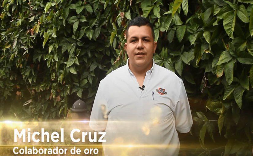 Colaboradores de Oro: Michel Cruz Ureña