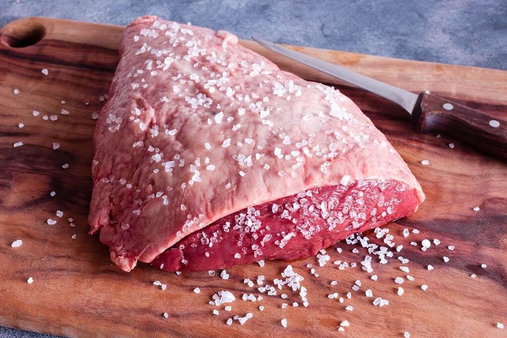 Punta de solomo - corte de carne de res