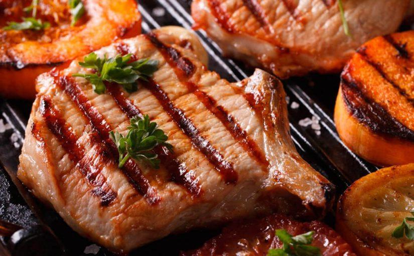¿Cuáles son los cortes de carne de cerdo para la parrilla?