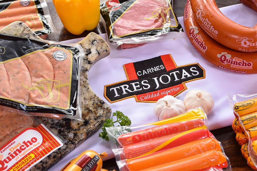 Distribución y producción de carne de res y de cerdo