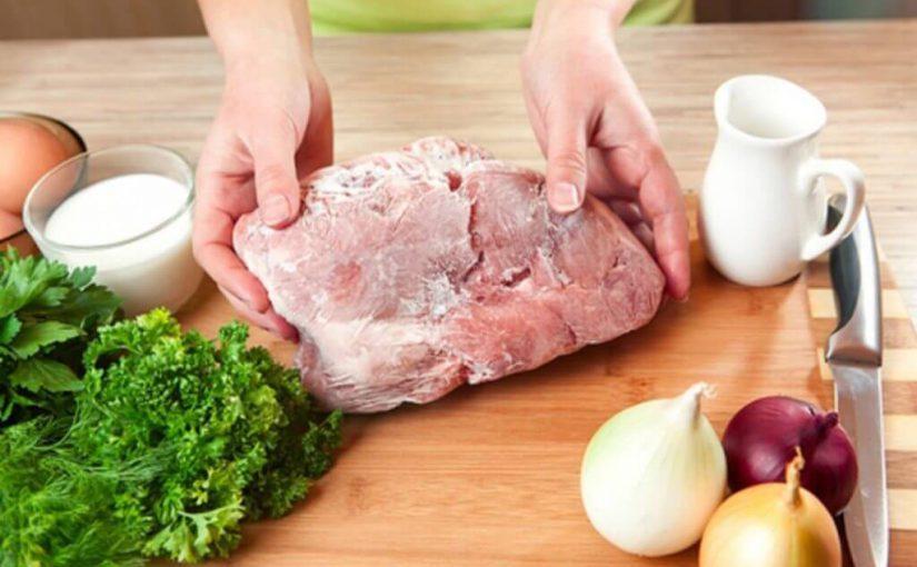 Consejos para congelar la carne