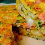 Tortilla estilo español