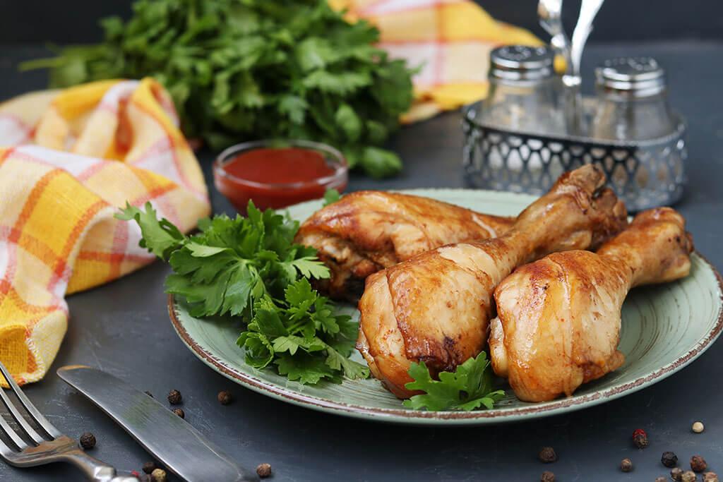 Pollo con salsa cremosa de balsámico