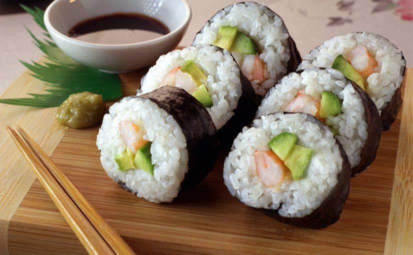 Sushi con camarones: preparación fácil para principiantes