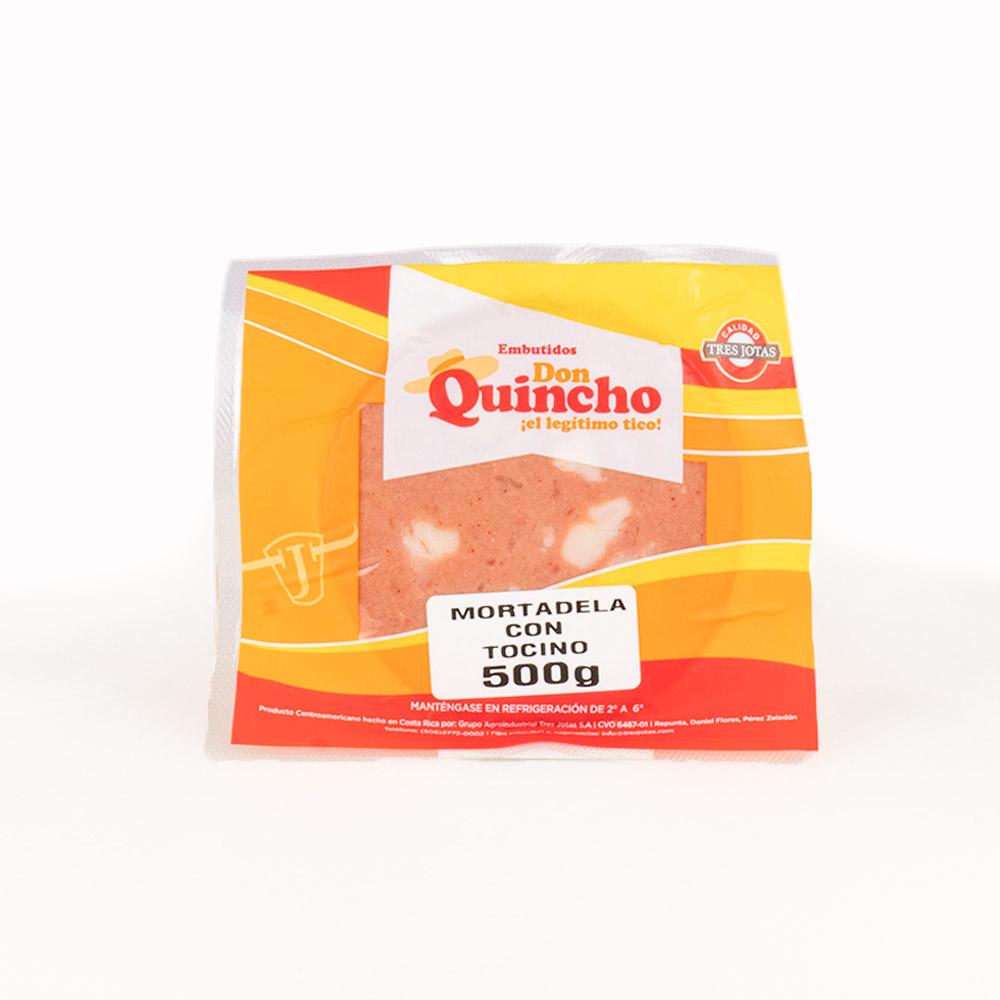 MORTADELA C/ TOCINO Don Quincho 500 GRAMOS